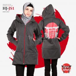Hijacket Japan Street Red Gray