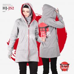 Hijacket Japan Street Red White