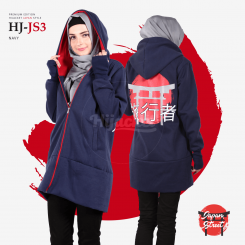Hijacket Japan Street Navy Red