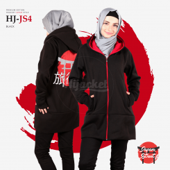 Hijacket Japan Street Black Red